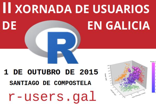 II Xornada de Usuarios de R en Galicia